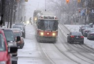The GTA is being hit with this seasons biggest snowstorm to date this season but it didnt keep people inside their homes .Although Toronto will only be hit by 5 to 10 cm  ,west of Toronto is being hit really hard