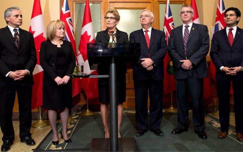 Wynne's new cabinet 2