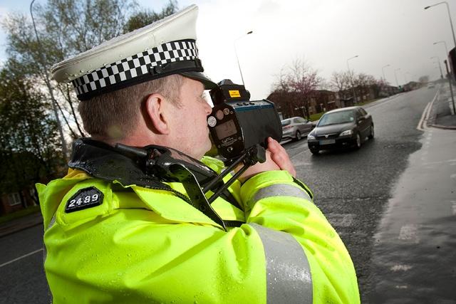POLICE SPEEDING
