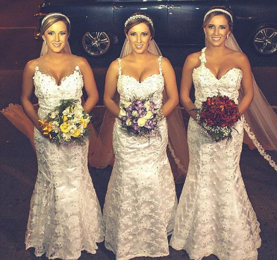THREE TWINS MARRIAGE