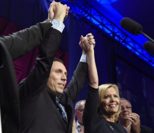 Patrick Brown; Christine Elliott
