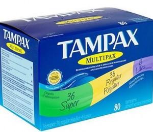 Tampax-Tampons