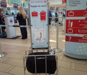 oversized carry-on baggage