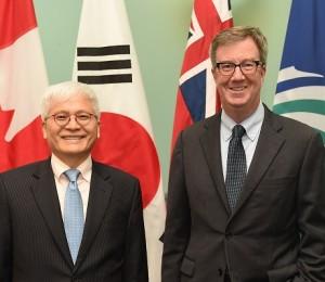 ambassador cho Jim Watson ottawa mayor