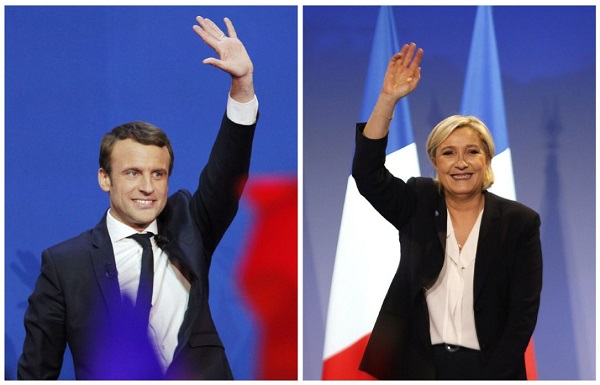 france president election Emmanuel Macron Marine Le Pen