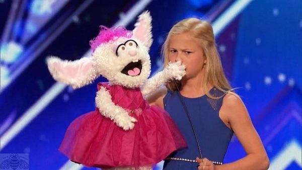 Darci parmer puppet Petunia