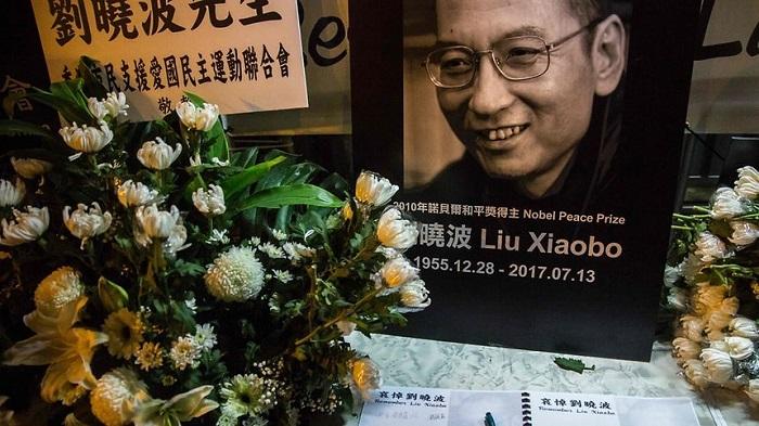 nobel prize peace Liu Xiaobo funeral