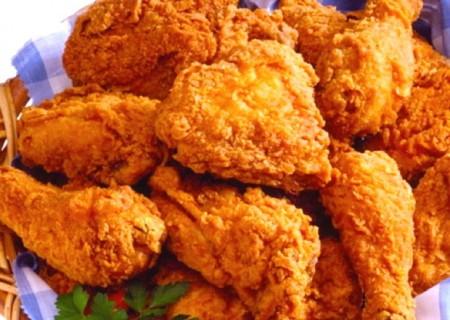fried chicken trans fat
