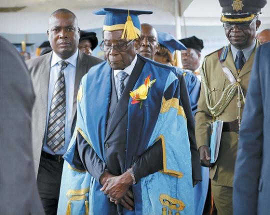 Mugabe. Zimbabwe