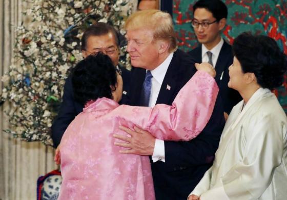 trump comfort women