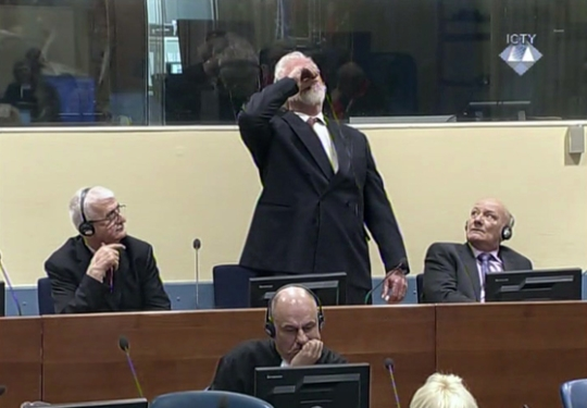 Slobodan Praljak dies after drinking poison at court