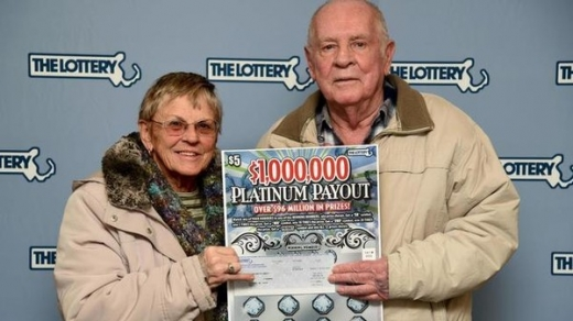 lotto win couple