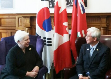 ontario governor and consul general jung tae in