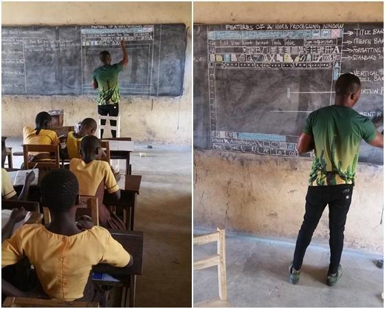 blackboard ms word