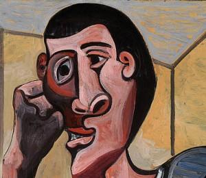 picaso self portrait