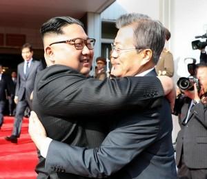 president moon and kim