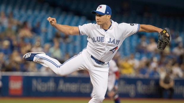 Toronto Blue Jays pitcher Seunghwan Oh