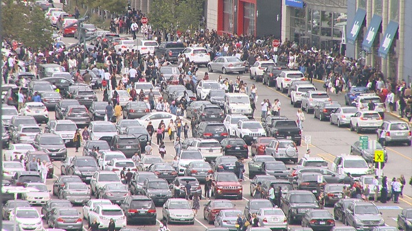 york dale mall evacuation