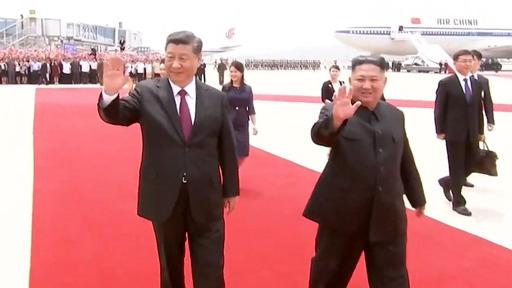 chinese north korea leaders